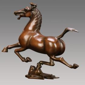 马踏飞燕 黄铜传统失蜡法纯手工制作/收藏馈赠佳品