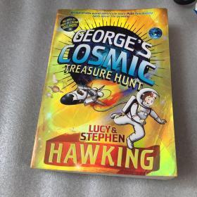 George and the Cosmic Treasure Hunt 乔治的宇宙探险(科学巨人霍金创作的第一本儿童科普)