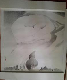林若熹 人体素描原大复制品1