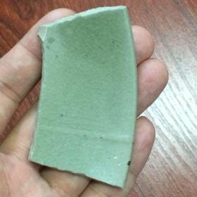 越窑青釉小瓷片1