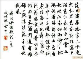 【保真】实力书法家董云忠:苏轼《水调歌头》