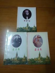 二战西方三巨头传记:罗斯福、丘吉尔、戴高乐(全三册)