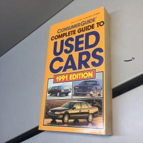 英文原版  COMPLETE GUIDE TO USED CARS 1991 EDITION