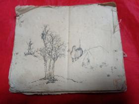 民国画谱二仕女,花鸟,草虫,百子图(61—110页)