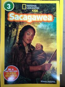 平装 National Geographic Readers: Sacagawea 3 国家地理读者:萨卡加维亚