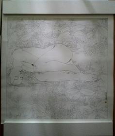 林若熹 人体线描原大复制品3