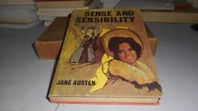 Sense and sensibility(理智与情感)by Jane Austen 英文原版精装