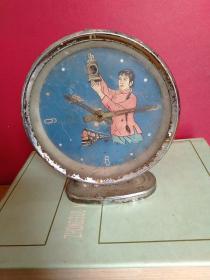 闹钟1个:中国南京·紫金山牌 红灯记 李铁梅人物