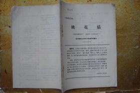 桃花扇   西安电影制片厂  1963年(完成台本)