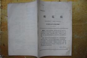 桃花扇   西安电影制片厂  1963年 (完成台本)