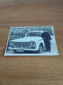 老照片 人与上海老汽车