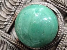 清代宝石老珠子
