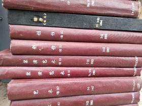 创作杂志(俄文)1979年1-12、1981年1-12、1982年1-12、1983年1-12、1984年1-12    五册合售 合订本