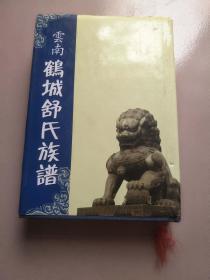 云南鹤城舒氏族谱 精装