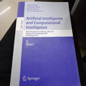 Artificial Intelligence  and Computational Intelligence (人工智能与计算智能)