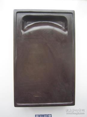 端硯-舊料坑仔巖端硯367(器型敦厚)
