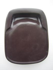 端硯-舊料坑仔巖端硯370(器型敦厚)