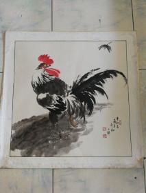 刘永林水墨画一幅