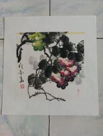 著名花鸟画家 黄艺老师《秋高画》