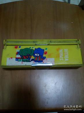 老塑料文具盒多層文具盒