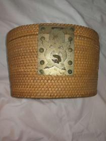 藤编茶壶套,保存完整,品相一流,包老包邮