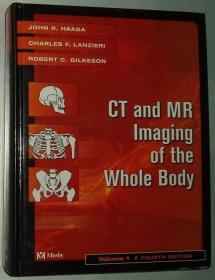 ★英文原版书 CT and MR Imaging of the Whole Body Volume 1