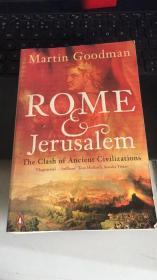 英文原版 Rome and Jerusalem: The Clash of Ancient Civilizations by Martin Goodman