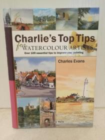 水彩画教程 Charles Evans Pocket Book for Watercolour Artists: Over 100 Essential Tips to Improve Your Painting (绘画)英文原版书