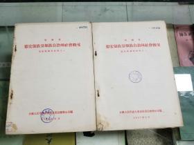 云南省 德宏傣族景颇自治州社会概况(景颇族调查材料之一、之二)56年出版