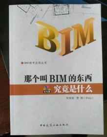 那个叫BIM的东西究竟是什么