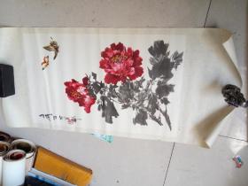 1978年 王雪涛国画 年画