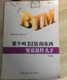 BIM技术应用丛书:那个叫BIM的东西究竟是什么2