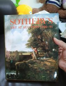 SOTHEBYS ART AT AUCTION 1990-91(苏富比艺术拍卖1990-1991)