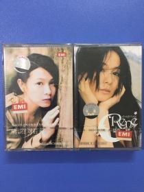 刘若英人个人专辑.原装磁带.全新未拆封.2张合售