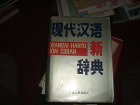 现代汉语新辞典
