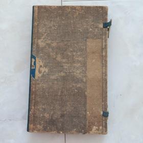 线装书《增广诗韵集成》4册全,带函套。