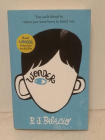 R.J.帕拉西奥:奇迹男孩 Wonder by R. J. Palacio (Penguin Books版)(成长故事/电影原著)英文原版书