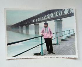 老照片:七八十年代手工上色照片