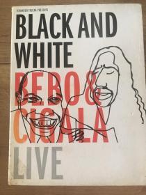 国外原版 音乐DVD Bebo & Cigala - Black and White 2张DVD