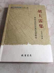 广西社会科学专家文集·胡大雷集:南北文化与古典文学新论