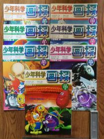少年科学画报1998年(2,3,4,7-8,9,10,11,)7册合售