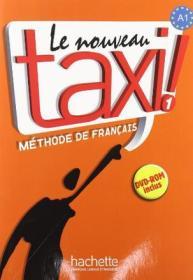 Le Nouveau Taxi Level 1 Textbook with DVD:Méthode de français