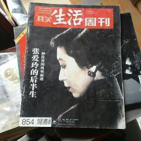 三联生活周刊2015年9月第38期(总第854期)