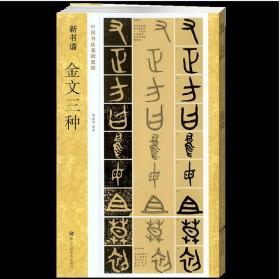 中国书法基础教程:金文三种(新书谱)