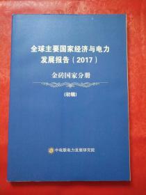 全球主要国家经济与电力发展报告(2017)金砖国家分册 初稿