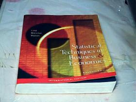 Statistical Techniques in Business& Economics【Eleventh Edition】
