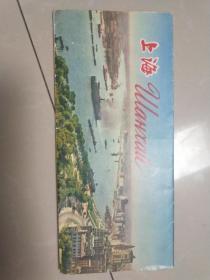 五十年代游览图:四开上海游览图