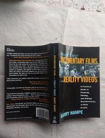 纪录片拍摄指南 Making Documentary Films and Reality Videos 英文原版书