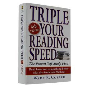 Triple Your Reading Speed, Fourth Edition 飞倍地提高你的阅读速度 英文原版