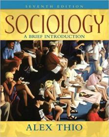 英文原版书 Sociology: A Brief Introduction (7th Edition) Alex D Thio 社会学:简介、入门